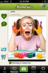 Kinderlime app with photo memories