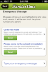 emergency notifications for preschools